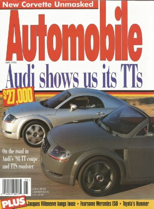 AUTOMOBILE 1996 MAY - MERCEDES E50 AMG, VIPERS, TTs