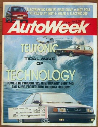 AUTOWEEK 1992 MAY 18 - PORSCHE 928 GTS & QUATTRO TESTED