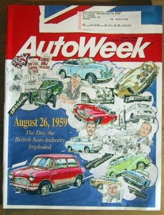 AUTOWEEK 1993 MAR 08 - NEW McLAREN F1 SUPERCAR TESTED