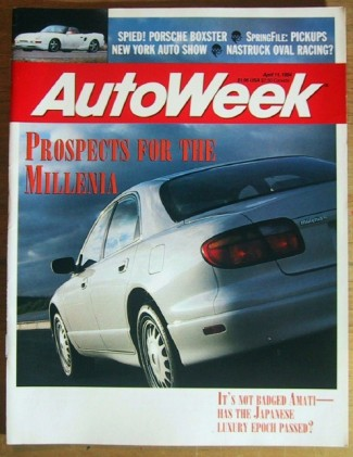 AUTOWEEK 1994 APR 11 - 911 CARRERA, PICKUP Spcl, EX-12
