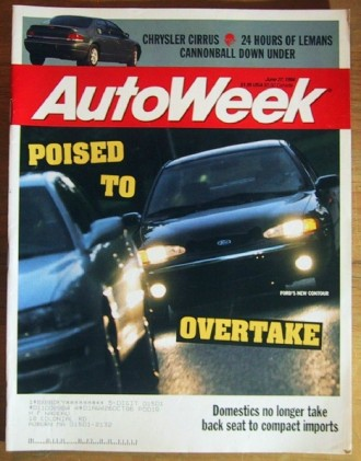 AUTOWEEK 1994 JUNE 27 - 24 Hours of LeMANS, WRANGLER