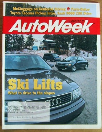 AUTOWEEK 1995 JAN 30 - A6 QUATTRO & IMPREZA LX TESTED
