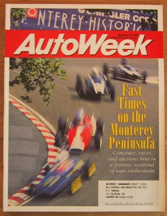 AUTOWEEK 1996 SEPT 09 - M. ANDRETTI, J. GORDON, FELLOWS
