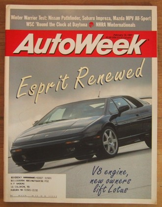 AUTOWEEK 1997 FEB 10 - 4-WHEEL-DRIVE, 24-Hrs of DAYTONA