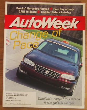 AUTOWEEK 1997 MAY 19 - CATERA SPECIAL, NEW SMART CAR