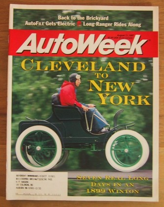 AUTOWEEK 1997 AUG 11 - ELECTRIC CARS, WILD 356 PORSCHE