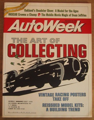 AUTOWEEK 1997 NOV 24 - KING GORDON, ACTIVE CORVETTE