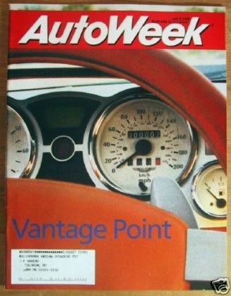 AUTOWEEK 1998 JULY 06 - PROJECT VANTAGE, DB6, GALANT V6