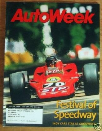AUTOWEEK 1998 JULY 20 - MAYBACK Spcl, RACING REPORT