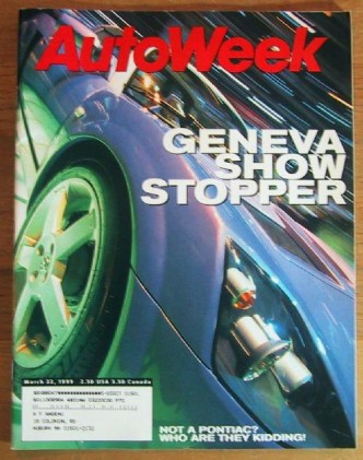 AUTOWEEK 1999 MAR 22 - M-COUPE & A6 4.2 QUATTRO TESTED