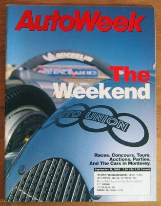AUTOWEEK 1999 SEPT 13 - GTI GLX, ECHO & S40/V40 TESTED