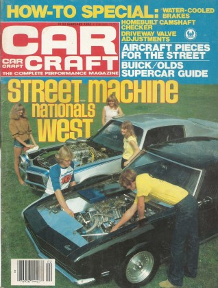 CAR CRAFT 1983 FEB - OLDS AND BUICK MUSCLECARS