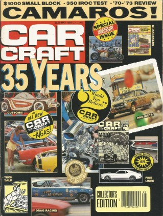CAR CRAFT 1988 MAY - ANNIVERSARY ISSUE, HURST/OLDS*