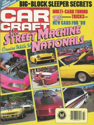 CAR CRAFT 1988 OCT - 200MPH STREET CAMARO, ALL-TRAC