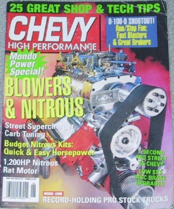 CHEVY HIGH PERFORMANCE 1999 JUNE - LINGENFELTER/SUMMIT