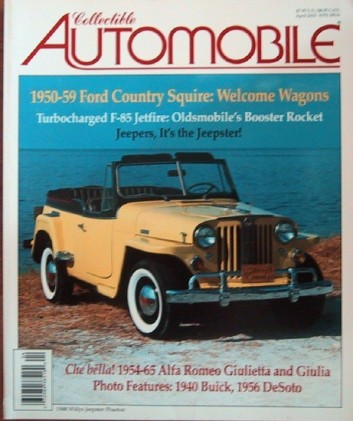 COLLECTIBLE AUTOMOBILE 2003 APR - XR-7, COUNTRY SQUIRE*