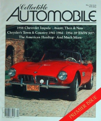 COLLECTIBLE AUTOMOBILE 1984 MAY - #1 HARDBACK EDITION