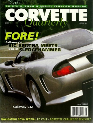CORVETTE QUARTERLY 1999 - SPRING