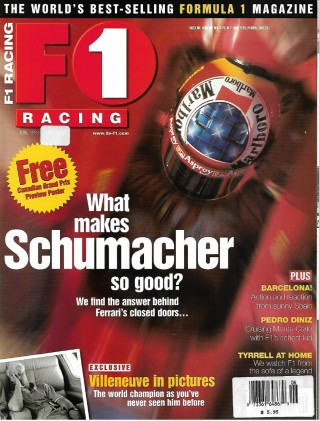 F1 RACING 1998 JUNE - TRULLI, PEDRO DINZ, JACQUES, MOSLEY,GIANSANTI,WINDSOR