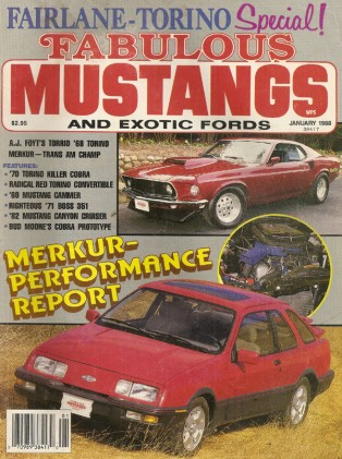 FABULOUS MUSTANGS 1988 JAN - K-CODE, 429