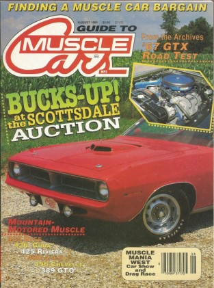 GUIDE TO MUSCLE CARS 1989 AUG - AVANTI, PAXTON-SHELBY