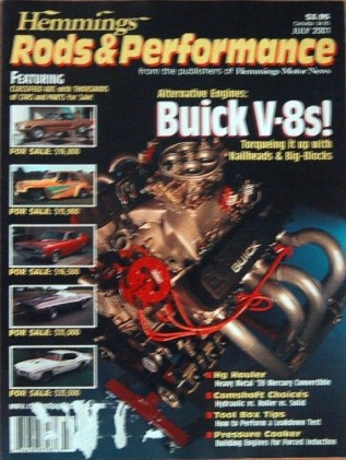 HEMMINGS RODS & PERFORMANCE 2001 JULY - V-8 CONQUEST