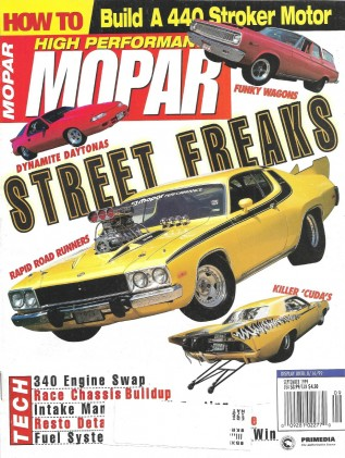 HIGH PERFORMANCE MOPAR 1999 SEPT - 440 B-UP, CHRYSLER