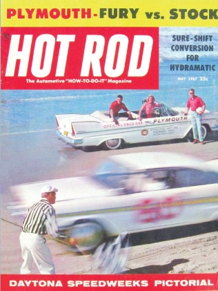 HOT ROD 1957 MAY - NASCAR SPEEDWEEK, DRAGSTER Spcl.