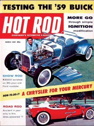 HOT ROD 1959 MAR - LeSABRE, MOSELEY, KNOX, WALT FLYNN