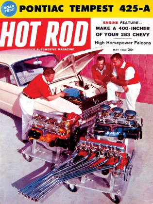 HOT ROD 1960 MAY - STROKE YOUR MOUSE, '60 VENTURA