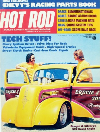 HOT ROD 1975 OCT - ENGLISHTOWN, BAJA, El MIRAGE