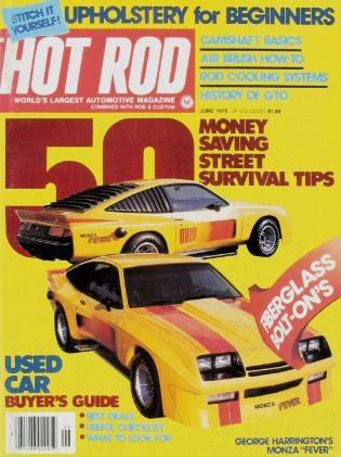 HOT ROD 1976 JUNE - ZUL, GTO, 442, 914-8 PORSCHE