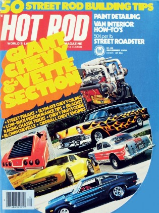HOT ROD 1976 DEC - CHEVY AND CORVETTE SPECIAL