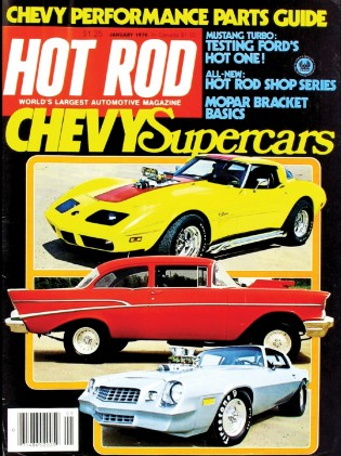 HOT ROD 1979 JAN - MOPAR BRACKET BASICS, TURBO PONY