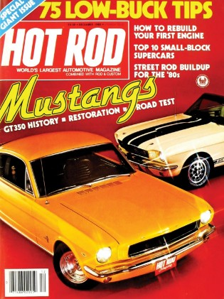 HOT ROD 1980 DEC - GT350s, '60 SMALL BLOCK MUSCLE