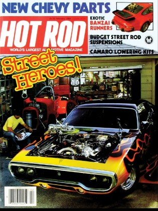 HOT ROD 1983 FEB - V-8s IN IMPORTS, 460 MUSTANG