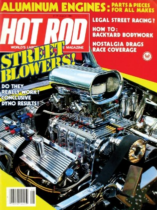 HOT ROD 1983 AUG - BLOWER BASH, GRAN SPORTS, CAD-LARK