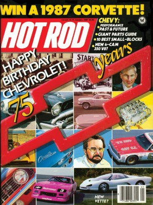 HOT ROD 1987 JAN - IROC-Z350,455 STAGE 1,OLDS TORONADO