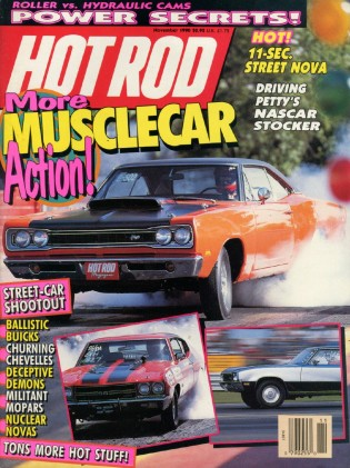 HOT ROD 1990 NOV - 3000GT VR4, '69 T/A, KYLE PETTY, Z11