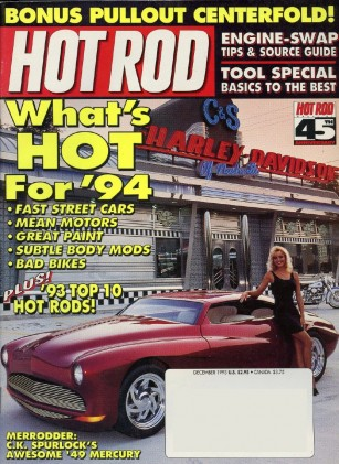 HOT ROD 1993 DEC - MERRODDER, STIELOW's PERFECTION
