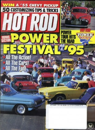 HOT ROD 1995 SEPT - EL MIRAGE, STREET MACHINE DUEL