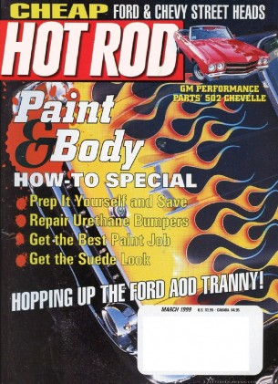 HOT ROD 1999 MAR - PROUT's KILLER MID-ENGINE CAMARO