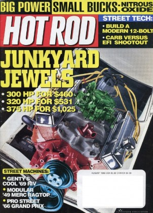 HOT ROD 1999 AUG - HEMI WILLYS, GTP, STEEDA, VFI-EFI*