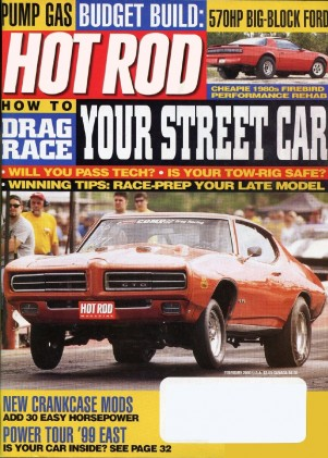 HOT ROD 2000 FEB - DRAG RACING, HOT 460, JUNGLE JIM