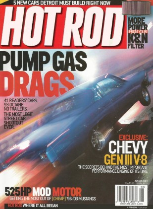 HOT ROD 2004 AUG - LIGHTNING vs SRT-10, GEN III SECRETS