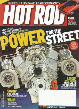 HOT ROD 2006 SEPT - SWAMP RAT, BANKS' DIESEL, MAXTON
