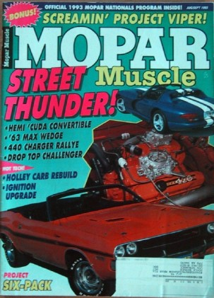 MOPAR MUSCLE 1993 AUG/SEPT - DeSOTO, 426 MAXIE