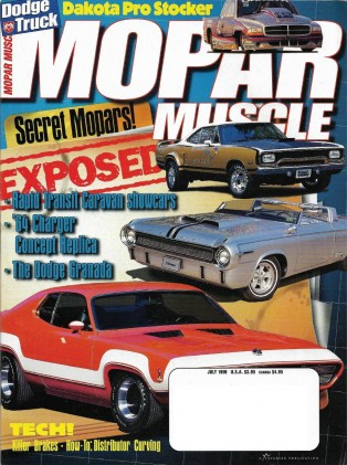 MOPAR MUSCLE 1999 JULY - CONCEPTS GALORE, RADIO FLYER