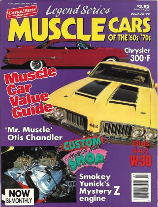 MUSCLE CARS OF THE 60'S 70'S LEGEND SERIES 1990 JUL/AUG - AMX/2, CERVs,PANTERA