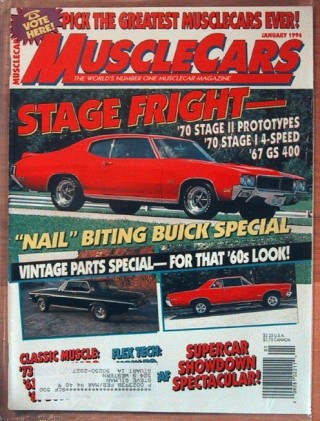 MUSCLE CARS 1994 JAN - GSs, PERIOD-PERFECT, BOSS 302